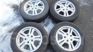 Продам комплект колес 195/60R15. 6.0x15 5x114.30 ET50 ЦО 73,0мм.