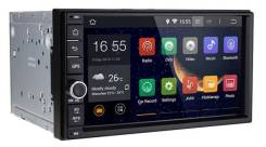 "Магнитола Универсальная на Android 4.4/wi-fi/GPS/BT/7""4ядра 1024на600. Под заказ"