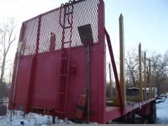 Freightliner FLD SD. Полуприцеп лесовоз-сортиментовоз, 40 000кг.