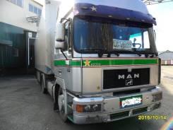 MAN F2000. Продажа тягача и полуприцепа, 12 000 куб. см., 20 000 кг.