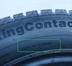 Continental ContiCrossContact Viking. Зимние, без шипов, 2015 год, без износа, 4 шт