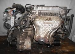 Двигатель с КПП, Toyota 1ZZ-FE  AT FF пластиковый коллектор