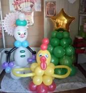 Новогодний наборчик из воздушных шаров!. Под заказ