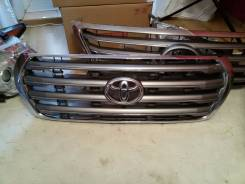Решетка радиатора. Toyota Land Cruiser, J200, URJ202, UZJ200 Двигатели: 1URFE, 2UZFE