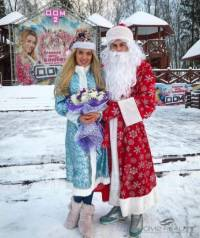 Костюмы Деда Мороза.