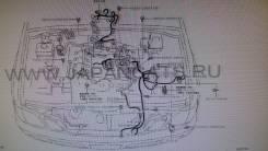 Проводка двс. Lexus LX470, UZJ100 Toyota Land Cruiser, UZJ100 Двигатель 2UZFE
