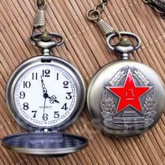 Национальные ретро карманные часы. Оригинал