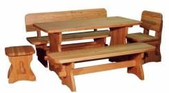 Бани, беседки, столы, лавки, двери, мебель. Под заказ