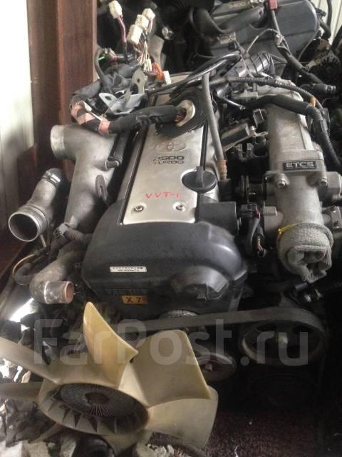 Двигатель. Toyota Soarer, JZZ30 Двигатель 1JZGTE
