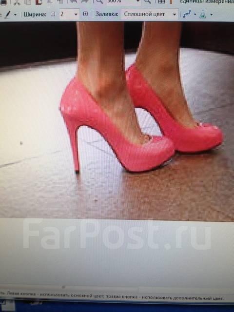 b3e162766224 Модные женские туфли-лодочки розовые р.37-38 - Обувь во Владивостоке