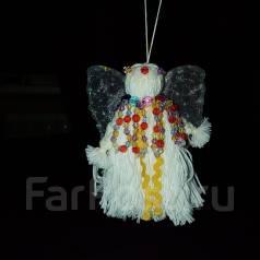 Новогоднее украшение Ангел. 300 руб.