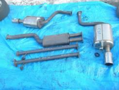Глушитель. Toyota Aristo, JZS161 Двигатель 2JZGTE