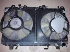 Радиатор охлаждения двигателя. Toyota Caldina, ST215W