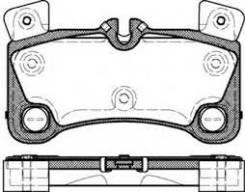 Колодки тормозные задние AUDI Q7 06- PORSCHE Cayenne 02- VOLKSWAGEN Touareg 02- Remsa 134600
