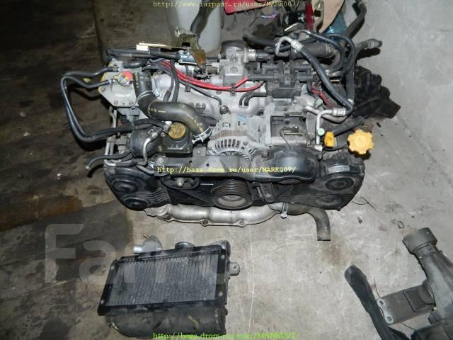 Двигатель. Subaru Forester, SF5 Двигатель EJ205