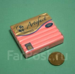 Запекаемая полимерная глина. Розовый фламинго