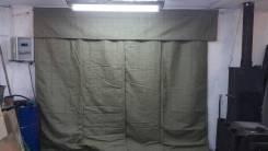 Изготовление на заказ брезентовых штор для гаражных боксов. Под заказ