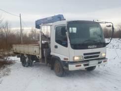Isuzu Forward. Продаётся грузовик Исудзу с манипулятором, 7 166 куб. см., 5 000 кг.