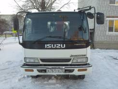 Isuzu Forward. Продам кран манипулятор isuzu forward 1994г, 7 127 куб. см., 3 000 кг., 10 м.