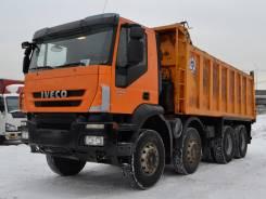 Iveco Trakker. Самосвал 2011 года, 3 000 куб. см., 23 680 кг.