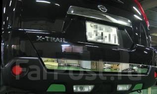 Накладка на дверь багажника. Nissan X-Trail, T31, T31R