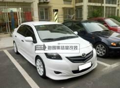 Обвес кузова аэродинамический. Toyota Belta, NCP96, KSP92, SCP92 Двигатели: 2SZFE, 2NZFE, 1KRFE