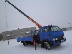 Kia Rhino. Продается кран-манипулятор, 5 000 кг., 12 м.
