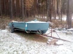 Казанка. длина 4,60м., двигатель подвесной, 25,00л.с., бензин
