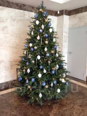 Новогодние оформления. Украшение елок, гирлянд. Композиции и венки