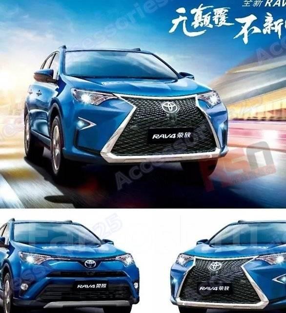 Обвес кузова аэродинамический. Toyota RAV4, ALA49L, ASA42, ASA42W, ASA44, ASA44L, ZSA42L, ZSA44L
