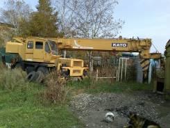 Kato KR--20H-3 с гуськом, 1987. Продается кран KATO-20H, 20 000 кг., 36 м.