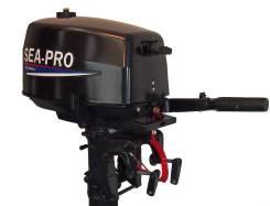 Sea-Pro. 5,00л.с., 2х тактный, бензин, нога S (381 мм), Год: 2017 год