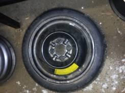 1 колесо (техничка, докатка) R14, сверл.4*100 в отличном состоянии. x14 4x100.00 ET43
