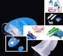 Отбеливание зубов в домашних услових