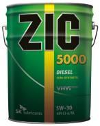 ZIC 5000. Вязкость 5W-30, полусинтетическое