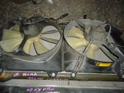 Радиатор охлаждения двигателя. Toyota Mark II Wagon Qualis, MCV21W, MCV21 Двигатель 2MZFE