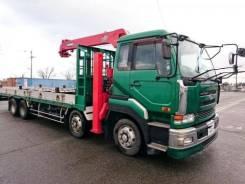 Nissan Diesel UD. бортовой с манипулятором., 21 200 куб. см., 17 000 кг. Под заказ