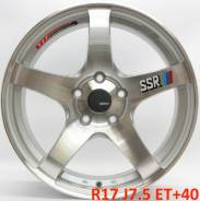 SSR. 7.5x17, 5x114.30, ET40, ЦО 73,1мм.