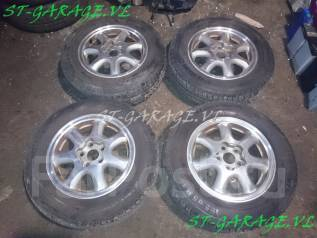 Комплект хороших колес Toyota + жирное лето 195/65R14. 6.0x14 5x100.00 ET45