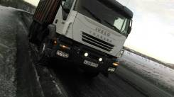 Iveco. Самосвал Trakker в Томске., 13 000 куб. см., 25 000 кг.