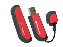 Флеш-накопитель 16Gb USB 2.0 Transcend V70 (TS16GJFV70) черный/красный