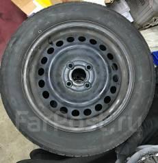 Комплект летних колес на штамповках Toyo 185-60-15. x15 4x100.00
