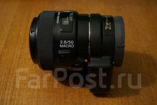 Sony LA-EA2, SAL50M28. Для Sony, диаметр фильтра 55 мм