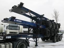 Dennison. Полуприцеп контейнеровоз 2003 г., 35 000 кг.