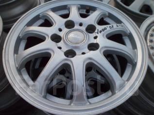 Литые диски Interiot Б/У из Японии R15*5*114.3 , 4 шт. 6.0x15, 5x114.30, ET50