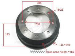 Тормозной барабан 076-01-0001