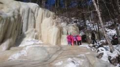 28 января. Шкотовские водопады. Водопад Неожиданный.