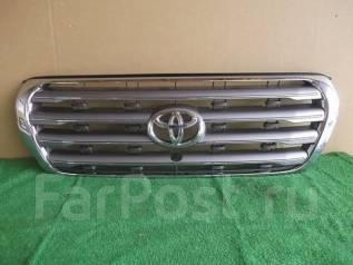 Решетка радиатора. Toyota Land Cruiser, URJ202W, UZJ200W, UZJ200, VDJ200, J200, 200 Двигатели: 1URFE, 2UZFE, 1VDFTV, 3URFE. Под заказ
