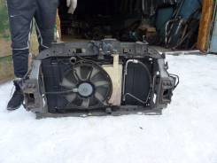 Радиатор охлаждения двигателя. Toyota Ractis, SCP100 Двигатель 2SZFE