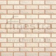 Фасадная панель (кирпич белый) Альта-Профиль 1140х480х20мм
